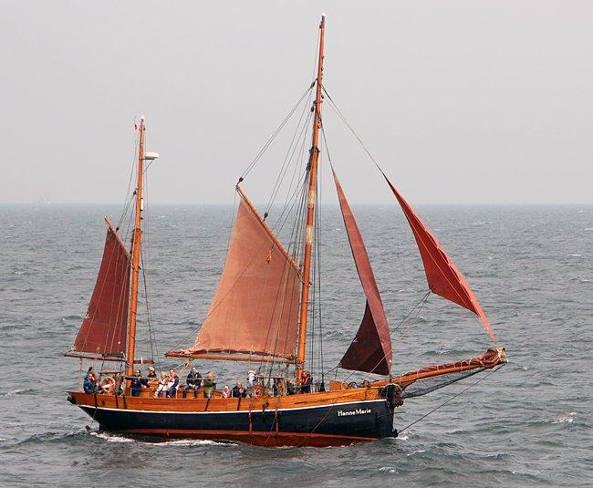 Hanne-Marie, Volker Gries, Hanse Sail Rostock 2016 , 08/2016