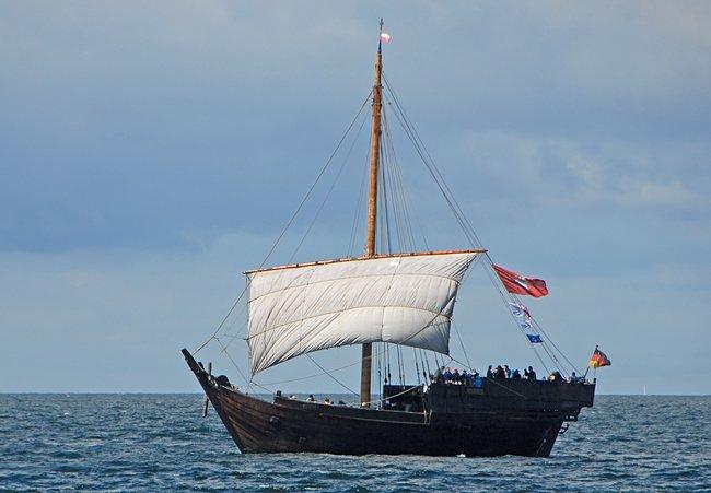 Hanse-Kogge, Volker Gries, Hanse Sail Rostock 2016 , 08/2016