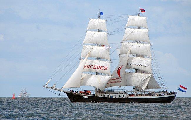 Mercedes, Volker Gries, Hanse Sail Rostock 2016 , 08/2016