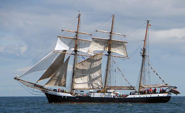 Fridtjof Nansen, Volker Gries, Hanse Sail Rostock 2016 , 08/2016