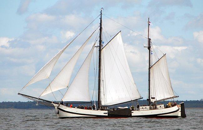 Engelina, Volker Gries, Hanse Sail Rostock 2016 , 08/2016