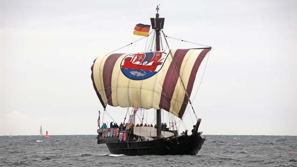 Ubena von Bremen, Volker Gries, Hanse Sail Rostock 2017 , 08/2017