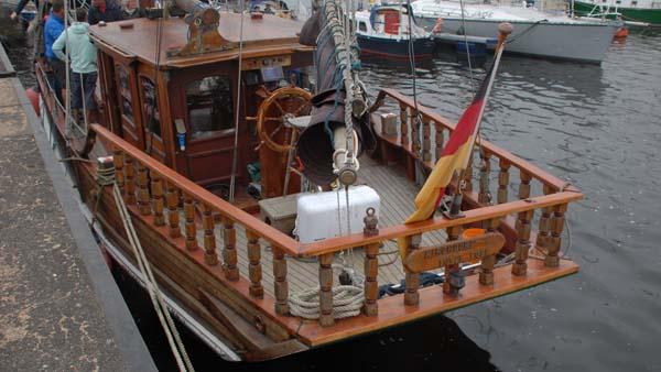 Jane II, Volker Gries, Hanse Sail Rostock 2017 , 08/2017