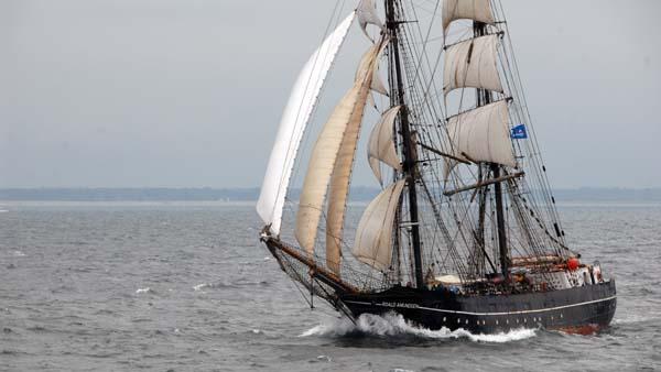 Roald Amundsen, Volker Gries, Hanse Sail Rostock 2017 , 08/2017