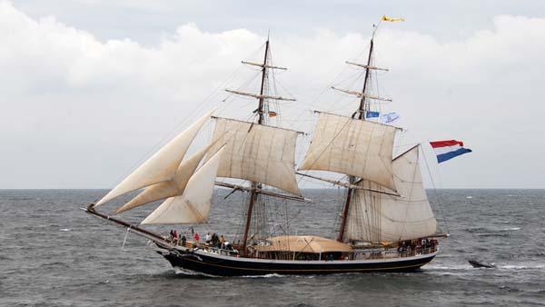 Morgenster, Volker Gries, Hanse Sail Rostock 2017 , 08/2017