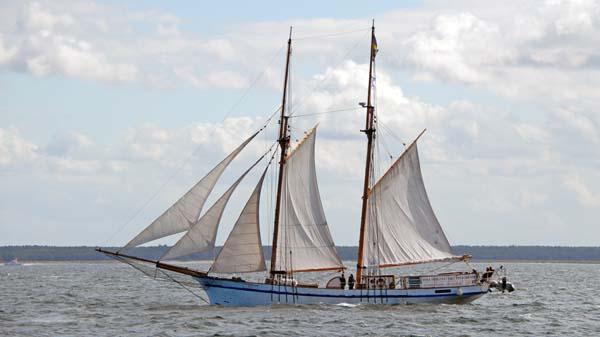 Tre Hjärtan, Volker Gries, Hanse Sail Rostock 2017 , 08/2017