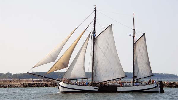 Engelina, Volker Gries, Hanse Sail Rostock 2018 , 08/2018