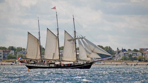 Regina Maris, Volker Gries, Hanse Sail Rostock 2018 , 08/2018