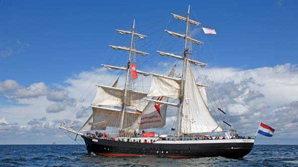 Mercedes, Volker Gries, Hanse Sail Rostock 2018 , 08/2018