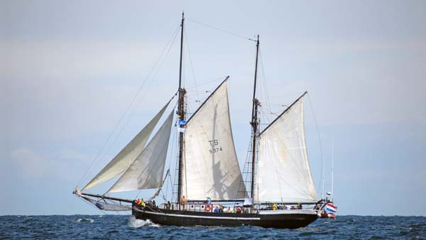 Hawila, Volker Gries, Hanse Sail Rostock 2018 , 08/2018