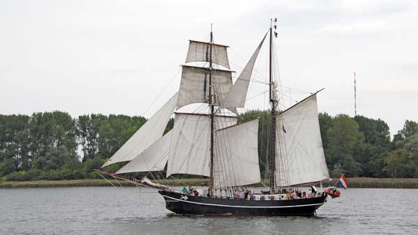Jantje, Volker Gries, Hanse Sail Rostock 2018 , 08/2018