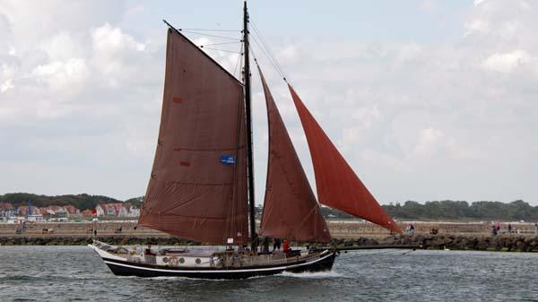 Ernestine, Volker Gries, Hanse Sail Rostock 2019 , 08/2019