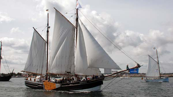 Amazone, Volker Gries, Hanse Sail Rostock 2019 , 08/2019