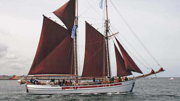 Nordlyset II, Volker Gries, Hanse Sail Rostock 2019 , 08/2019