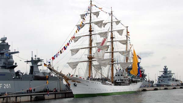 Gloria, Volker Gries, Hanse Sail Rostock 2019 , 08/2019