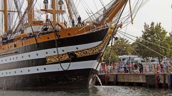 Amerigo Vespucci, Volker Gries, Hanse Sail Rostock 2019 , 08/2019