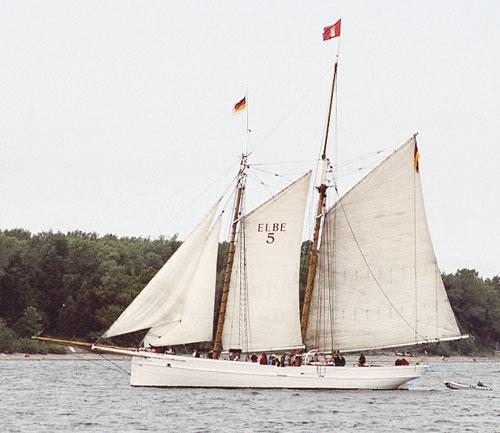 No. 5 Elbe, Volker Gries, Kieler Woche 2005 , 06/2005