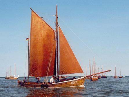 PRU7 Paula, Volker Gries, Barther Zeesbootregatta , 07/2001