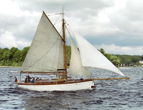 Fair Dawn, Volker Gries, Rum-Regatta 2004 , 05/2004