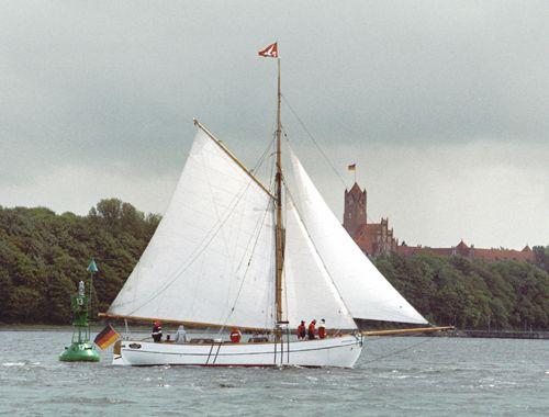 Gefion, Volker Gries, Rum-Regatta 2004 , 05/2004