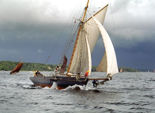 Willow Wren, Volker Gries, Rum-Regatta 2004 , 05/2004