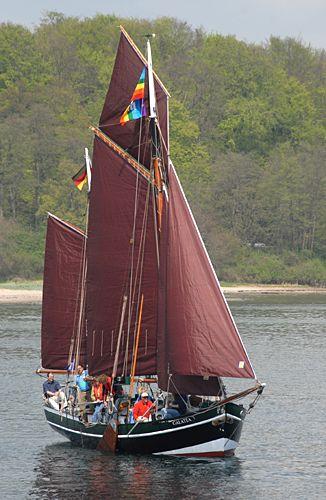 Galatea von Buxtehude, Volker Gries, Rum-Regatta 2008 , 05/2008