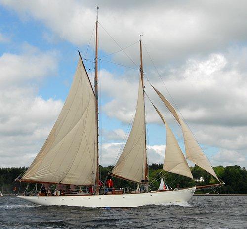 Vera Mary, Volker Gries, Rum-Regatta 2009 , 05/2009
