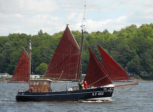 Hedi HF482, Volker Gries, Rum-Regatta 2009 , 05/2009