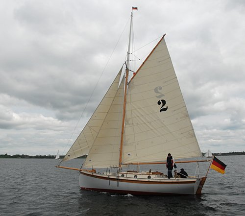 Freya von den sieben Inseln, Volker Gries, Rum-Regatta 2010 , 05/2010