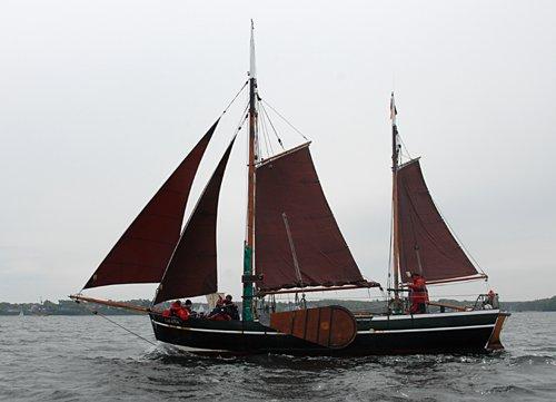 Galatea von Buxtehude, Volker Gries, Rum-Regatta 2010 , 05/2010