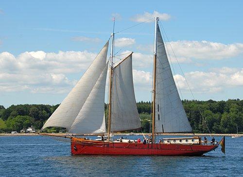 Ethel von Brixham, Volker Gries, Rum-Regatta 2011 , 06/2011