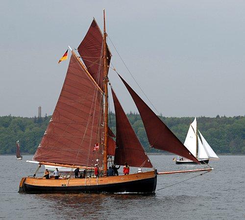 Aurora von Altona, Volker Gries, Rum-Regatta 2012 , 05/2012