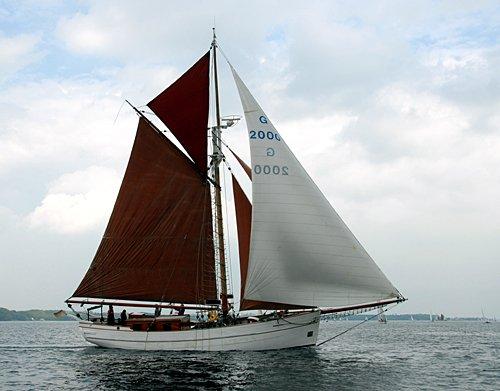 Thetis von Laboe, Volker Gries, Rum-Regatta 2012 , 05/2012