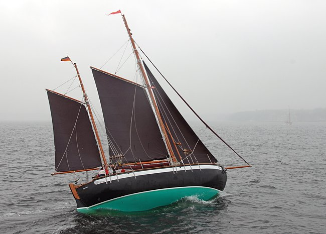 Tangaroa, Volker Gries, Rum-Regatta 2015 , 05/2015