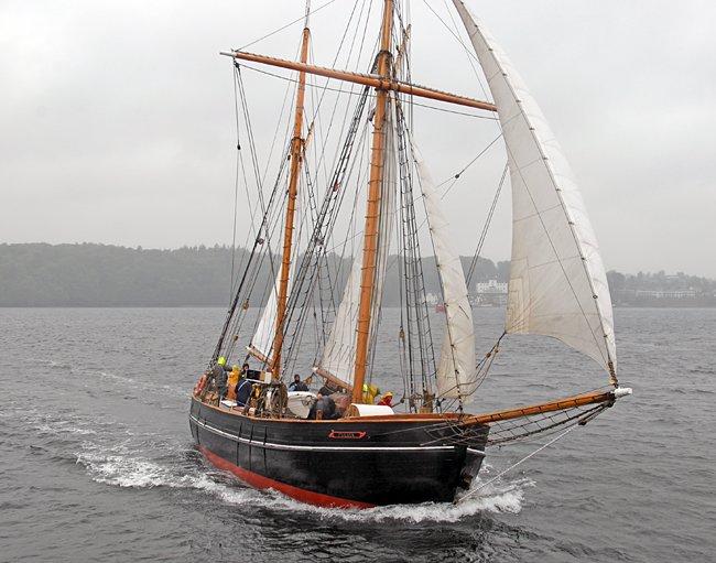 Fulvia af Anholt, Volker Gries, Rum-Regatta 2015 , 05/2015