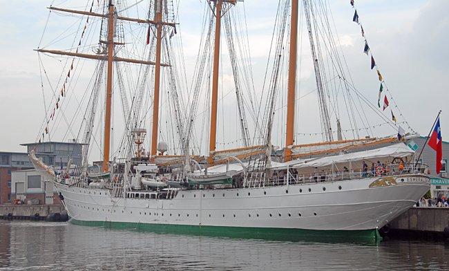 Esmeralda, Volker Gries, Sail Bremerhaven 2015 , 08/2015