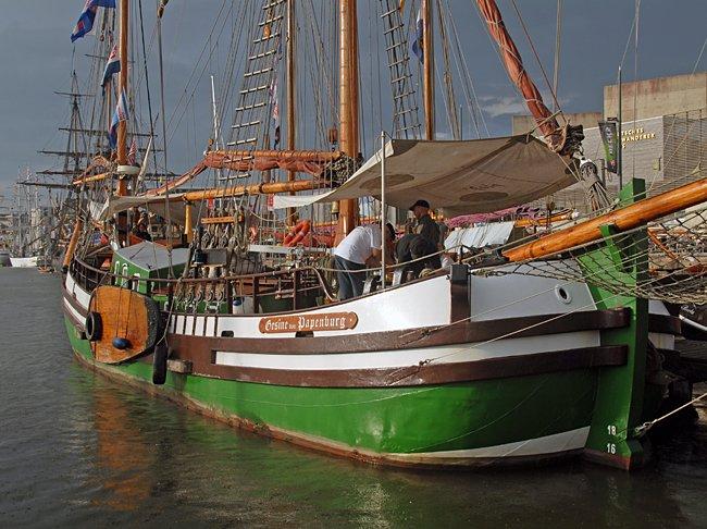 Gesine von Papenburg, Volker Gries, Sail Bremerhaven 2015 , 08/2015