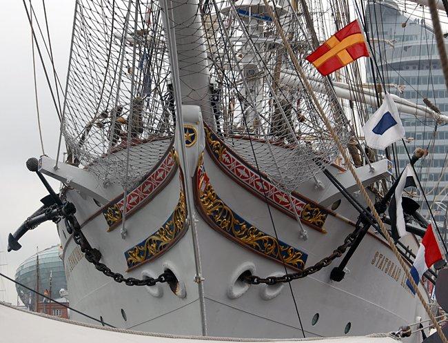 Statsraad Lehmkuhl, Volker Gries, Sail Bremerhaven 2015 , 08/2015