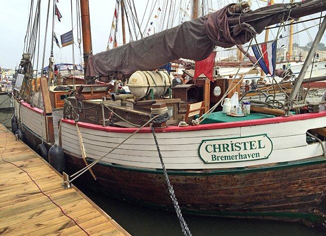 Christel, Volker Gries, Sail Bremerhaven 2015 , 08/2015