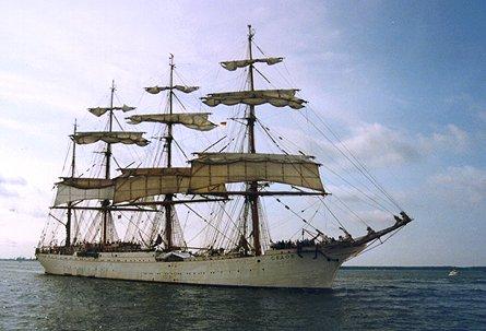 Sedov, Volker Gries, Hanse Sail Rostock 1998 , 08/1998