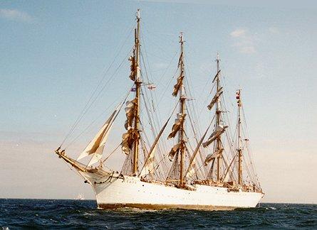 Sedov, Volker Gries, Hanse Sail 1996 / Cutty Sark 1996 , 08/1996