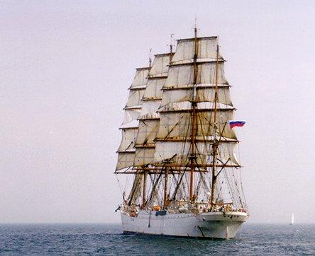 Sedov, Volker Gries, Hanse Sail Rostock 1999 , 08/1999
