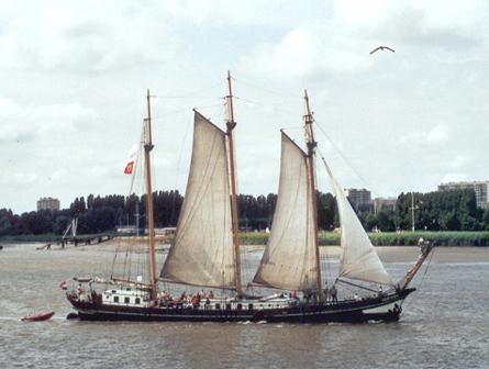 Oostvogel, Werner Jurkowski, Sail Antwerpen 2001 / Cutty Sark 2001 , 07/2001
