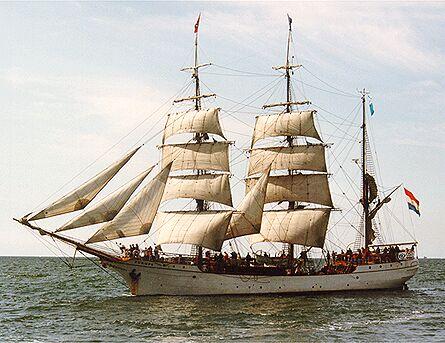 Europa, Volker Gries, Hanse Sail Rostock 1998 , 08/1998