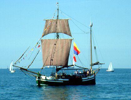 Gesine von Papenburg, Gerald Töppel, Hanse Sail 1991 , 08/1991