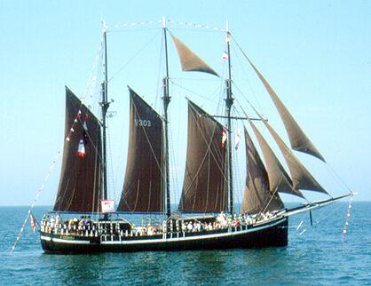 Vidar, Gerald Töppel, Hanse Sail 1991 , 08/1991
