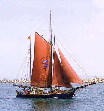 Concordia, Volker Gries, Hanse Sail Rostock 1999 , 08/1999