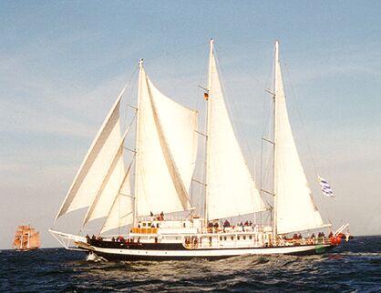 Capitan Miranda, Volker Gries, Hanse Sail 1996 / Cutty Sark 1996 , 08/1996