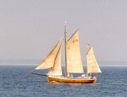 FZ38 Inge, Volker Gries, Hanse Sail Rostock 1999 , 08/1999
