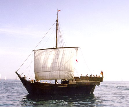Hanse-Kogge, Volker Gries, Hanse Sail Rostock 1999 , 08/1999